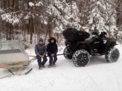 Продам прицеп для снегохода и для квадроцикла