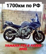 Yamaha FZ6S, 2005