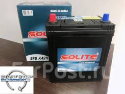 Аккумулятор Solite EFB K-42R 46B19R 38А/ч 360А (Start Stop)