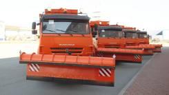 Комбинированная дорожная машина (КДМ) на базе самосвала Камаз-6520