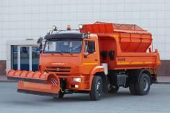 Комбинированная дорожная машина (КДМ) на базе самосвала Камаз-53605
