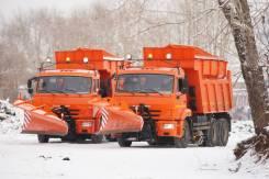 Комбинированная дорожная машина (КДМ) на базе самосвала Камаз-65115
