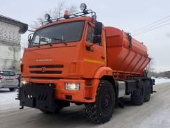 Комбинированная дорожная машина (КДМ) на базе самосвала Камаз-43118