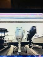 Продам лодочный мотор Honda BF130 в хорошем состоянии с катера