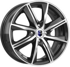 Диск колёсный K&K Арнар КС890 6 x 15 4*100 50 60.1 алмаз чёрный