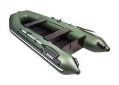 Лодка АКВА 3200 Слань-книжка зеленый (320 см. )