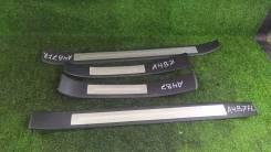 Накладки порогов салона Комплектом! Audi A4 B7 3,2 Quattro A/T
