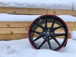 Новые диски KokoKuture SL547 MattBlack&RedLip в наличии в Иркутске