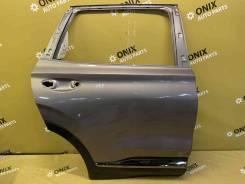 Дверь задняя праваяc с хромом Hyundai Santa FE [77004S1000]