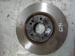 Диск тормозной вентилируемый Kia Optima 4 [517122T000], передний