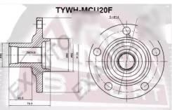 Ступица колеса Toyota Camry/Highlander TYWH-MCU20F ASVA