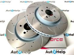 Диски тормозные перед перфорированные G-brake GFR-20630L | GFR-20630R