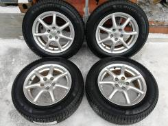 Новая зима Michelin 225/65 R17 на литье Toyota 5/114