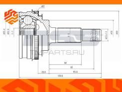ШРУС внешний JD JCT0045A