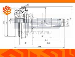 ШРУС внешний JD JCT0047A