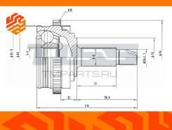 ШРУС внешний JD JCT0251A