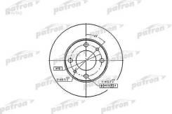 Диск тормозной передн FIAT: 124 66-75, 124 Familiare 67-75, 124 Spider 66-77, 124 купе 67-76, 125 67-74, 127 71-86, 127 Panorama 77-86, 128 69-84, 128 Familiare PBD1721
