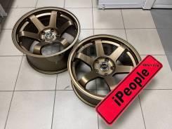 NEW! Комплект дисков Rota Volk TE37 R17 8/9j 30/25 5*114,3 (0795.0796)