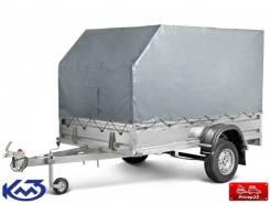 """Прицеп """"Квадро"""" R-16 кузов 2,5х1,5 м (тент 1,5м)"""