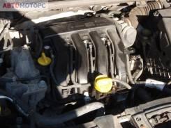 Двигатель Renault Megane III, 2009, 1.6 л, бензин (K4M858)