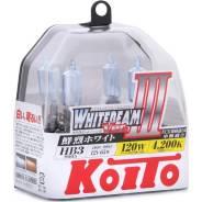 Лампа галогенная Koito HB3 9005 Whitebeam 4200K 12V 65W, 2 шт, P0756W