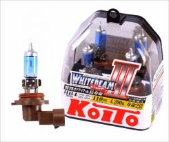 Лампа галогенная Koito HB4 9006 Whitebeam 4200K 12V 55W, 2 шт, P0757W