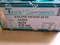 Поршни (к-т 4шт)+кольца двигателя Toyota 1ZZ-Fe ремонт 0.50