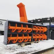 Снегоочиститель для экскаватора погрузчика Hidromek 102B