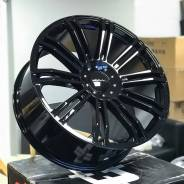 KMC KM677 22x9.5 5x114.3/120 Gloss Black
