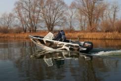 Лодка алюминиевая Realcraft 460 с Yamaha F60fetl