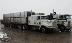 Длинномер 13,6 м, Перевозка контейнеров, леса, металла, негабарита.