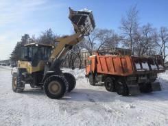 Услуги самосвала КамАЗ (вывоз снега, грунта, мусора) 2 шт.
