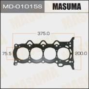 "Прокладка ГБЦ ""Masuma"" 1NZ-FE MD-01015S (металл 3 слоя, 0,75 мм)"