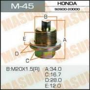 """Болт маслосливной С Магнитом """"Masuma"""" Honda 20х1.5mm"""