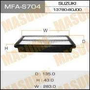 """Воздушный фильтр """"Masuma"""" Suzuki, SX4, YA41S, YB41S 06- A993J"""
