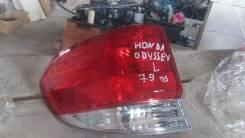 Фонарь задний левый Honda Odyssey 2009