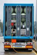 Танк-контейнер ПАГЗ аккумулятор газа КПГ, 20 - 40 футов