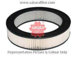 Фильтр воздушный Sakura /C 2262/A-1147/A-155A/MFA- 278/17801-41090 A-108 (A-1110)