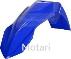 Крыло переднее Yamaha YZ250F, YZ450F 10-18; YZ125, YZ250 15-18; WR250F 15-18, WR450F 12-18 blue