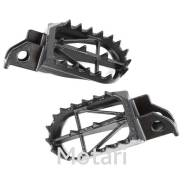 Подножки DRC Wide Foot Pegs CrMo Mid TTR250 93-97, Serow250 04-18, TS200R