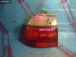 Фонарь стоп-сигнала Nissan Avenir W10, левый