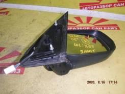 Зеркало заднего вида боковое правое Toyota bB QNC20 5 контактов