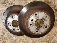 Диски тормозные (задние) пара оригинал Toyota