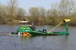 Лодка-косилка для уборки камыша ЛК-12А