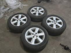 Диски литые Диски R15 оригинал комплект Nissan с резиной