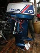 Продам лодочный мотор Nissan 70 л. с.