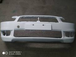 Бампер Mitsubishi Lancer X, новый, белый