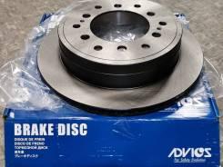 Диск тормозной задний Advics A6R180B