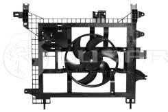 Вентилятор охлаждения радиатора