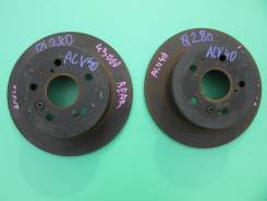 Диск тормозной задний Toyota Camry ACV40/ASV50, 2AZFE.42431-33130,4243
